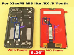 """<b>6.26</b>"""" <b>lcd For</b> XiaoMi Mi8 lite mi8 Youth <b>LCD</b> Display+Touch Screen ..."""