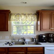Window Valance For Kitchen Wonderful Kitchen Window Valances Window Treatments