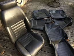 find mustang 99 04 oem leather seat