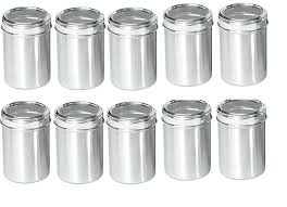 stainless steel kitchen canisters steel stainless steel kitchen containers set of code brushed stainless