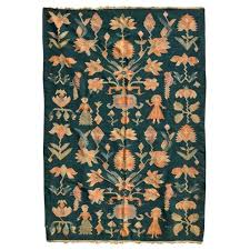 mid century modern wall tapestry green rug the kairos collective uk