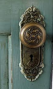 rustic looking doors with old knobs - Google Search
