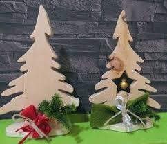 Weihnachtsdeko Aus Zirbenholz Kleine Tannenbäume Perfekt