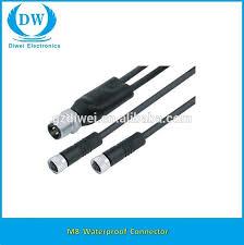 whole m8 3pin 4pin 5pin 6pin 8pin connector cable ip66 ip67 m8 3pin 4pin 5pin 6pin 8pin connector cable ip66 ip67 ip68 waterproof connector