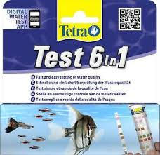 Tetra Test Strips Color Chart Details About Tetra Test Strips 6 In 1 Aquarium Water Ph Tester Fish Tank Test Kit 25 Pack