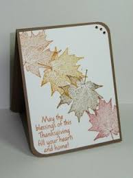 home made thanksgiving cards autumn side stepper_lb by clownmom cards and paper crafts at