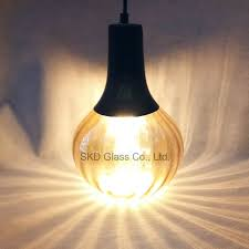 china blowing glass for pendant lamp black and amber finish china blowing glass mini blowing glass