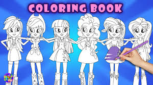 equestria s coloring my little pony coloring book kidsgame tv you