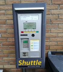 Ticket Vending Machine Near Me Enchanting Ticket Vending Machine For The Airport Shuttle Picture Of Scandic