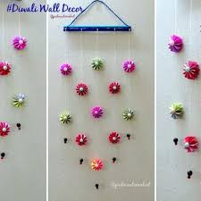 paper wall decorations wall decoration idea how to make easy paper wall hanging for with how to make wall hangings with paper step by step