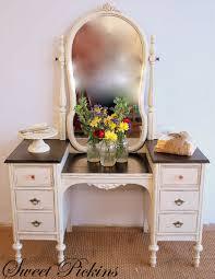 antique vanity set furniture. {before \u0026 after} \u2013 refinished antique vanity set furniture n