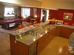 ... Cute Image Of L Shape Kitchen Decoration Using Lgith Grey Granite Onyx  Kitchen Counter Tops Including ...