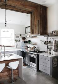 Modern Farmhouse Kitchen As Well High Chairs With Christmas Towels