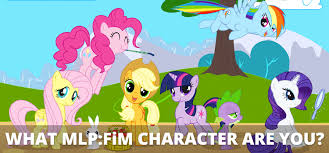 My Little Pony Personality Chart What My Little Pony Friendship Is Magic Character Are You