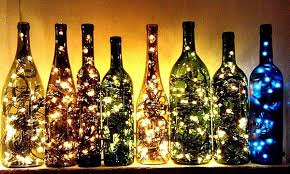 diy outdoor party lighting. Can You Picture Your Tent With These Bad Boys Hanging All Around? This Is A Great Way To Justify Keeping Those Old Wine Bottles And Jars Keep Around Diy Outdoor Party Lighting