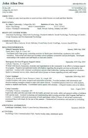 On Campus Job Resume Venturecapitalupdate Com