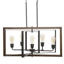 black chandelier lighting photo 5. 5 Light Black Chandelier Home Decorators Collection Palermo Grove Module 52 Lighting Photo A