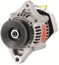3 wire small alternator powermaster 8172 denso racing alternator 50 amp small 12v one wire natural