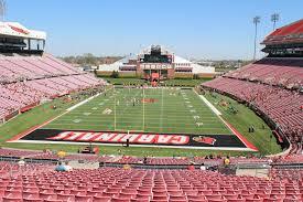 Cardinal Stadium Section 218 Rateyourseats Com