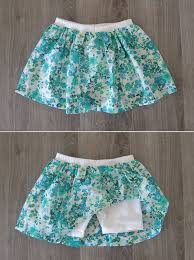 4 combination of skirt and shorts for girl cute diy projects for kids clothes