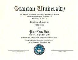 Fake Bachelor Degree Template Certificate Format Bd Sample