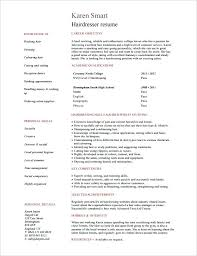 Resume For Hairstylist Example Hairdresser Skills Resume Format ...