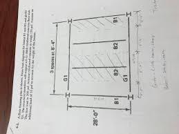 Floor Framing Design Solved A Floor Framing Plan Is Shown Draw Load Diagrams