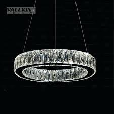 led ring pendant light australia crystal lamp ceiling lighting chandelier living s