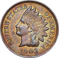 1903 Indian Head Penny Value Cointrackers