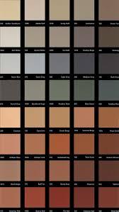 Davis Concrete Color Chart Stamp Color Chart Smith Art Concrete Stamp Concrete