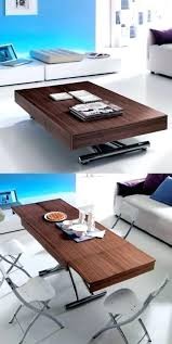 coffee table into dining table coffee dining table adjule height coffee dining table coffee table into