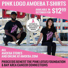 limited edition pink logo t shirt to benefit t cancer research