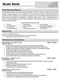 Resume With Accents