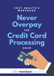 Credit Card Processing Comparison Chart The Complete Guide To Credit Card Processing Fees Rates 2019