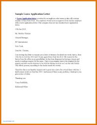 Elegant Application Letter Format For Leave In Office | Cloud Citadel