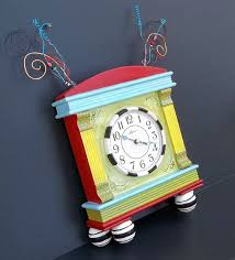 funky furniture and stuff. funky little clock with attitude from carolyns furniture and stuff d