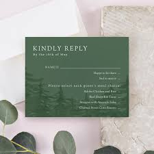 How To Reply To Wedding Rsvp Card A Guide To Wedding Invitation Rsvp Cards Zola Expert