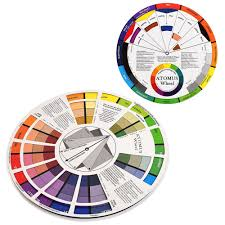 Us 2 76 15 Off 1pc Tattoo Ink Color Wheel Chart Tattoo Permanent Makeup Accessories Micro Pigment Color Wheel Guide To Mixing Color In Tattoo