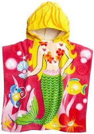 kids hooded beach towels. Northpoint Mermaid Kids Hooded Beach Towel Towels