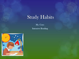 5 minutes to ms study habits ms coro intensive reading tip number one after