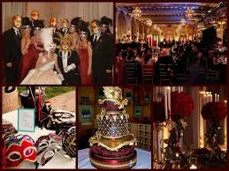 Elegant Masquerade Ball Decorations