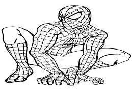 Spiderman Coloring Games Y8 Coloring Games Pages Online Black Page