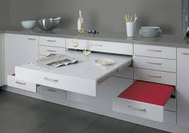 Adding pull out table to Ikea 24 drawer?