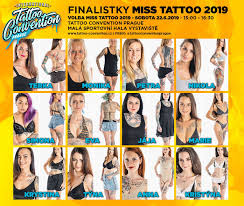 Miss Tattoo 2019 Tattoo Convention Prague