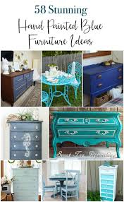 diy painting furniture ideas. A Huge Collection Of 53 Gorgeous DIY Painted Blue Furniture Ideas. These Are All Diy Painting Ideas