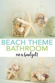 A Beach Themed Bathroom On A Budget The Country Chic Cottage