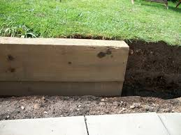 Small Picture small retaining wall with railway sleepers DIY Doctor UK DIY Forums