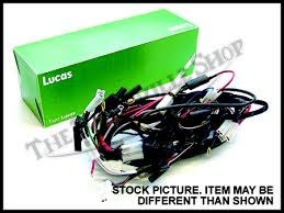 triumph 650 wiring harness diagram get image about wiring lucas 71 72 triumph bsa 650 twins main cloth wiring harness pn