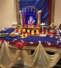 ganpati decoration ideas ganesh pooja decoration ganesh and