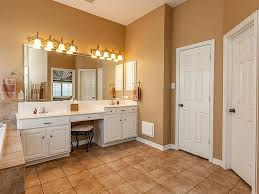 ariel bath roosevelt 97 double sink vanity set with mirror and incredible makeup area plan 4